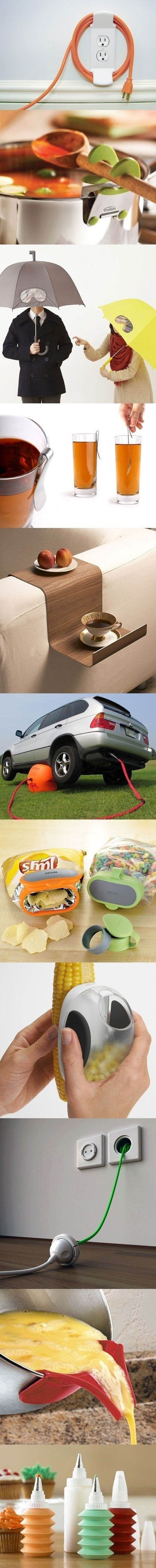Just a few clever gadgets that we can all use...