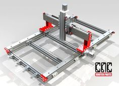 CRP2448 2' x 4' CNC Router Kit. Welcome to CNC Router Parts! Your number one resource for DIY CNC Router and Plasma machines.