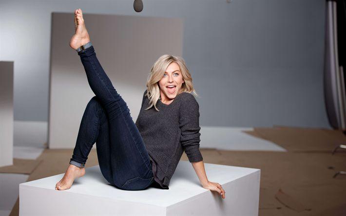 Hämta bilder Julianne Hough, 4K, Amerikansk skådespelare, blond, Amerikanska kändisar, vacker kvinna