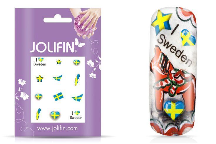 Schweden Fußball Nailart