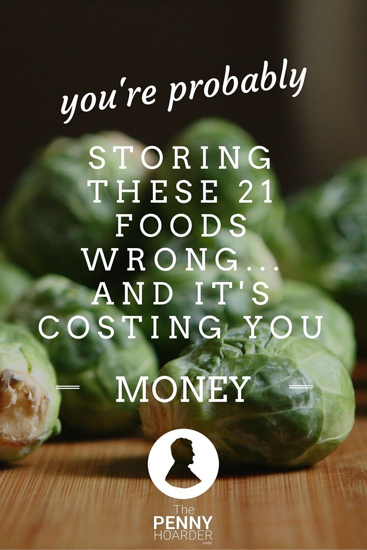 Ever wonder how to keep vegetables fresh or stop bananas from browning? You should: Improper food storage means you're throwing money in the trash. Here's how to reduce food waste and save money on groceries. - The Penny Hoarder http://www.thepennyhoarder.com/how-to-reduce-food-waste-store-food-properly/