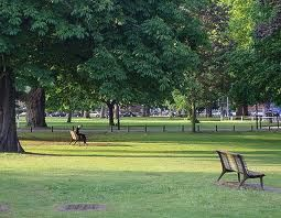 Lammas Park, Northfields, Ealing: The name derives from 'Lammas lands', which were used for grazing cattle in mediaeval times.