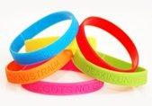 Colourful Silicone Wristbands