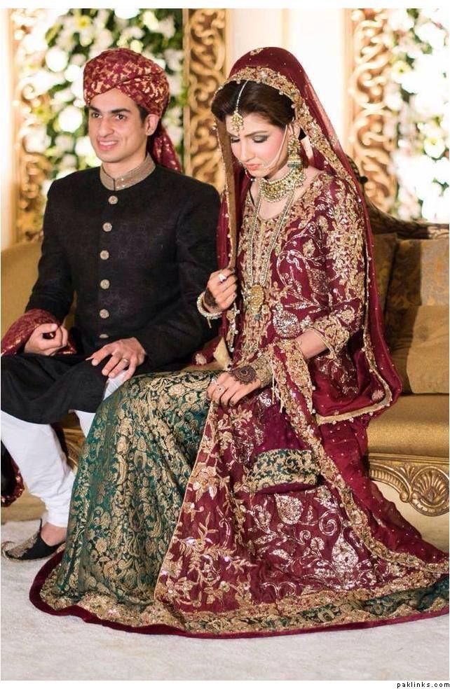 Bride's Lengha by Rana Noman look