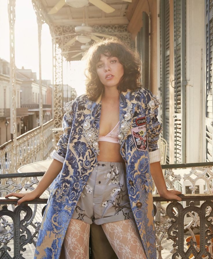Steffy Argelich Celebrates New Orleans, Lensed By Yelena Yemchuk For Elle US September 2016