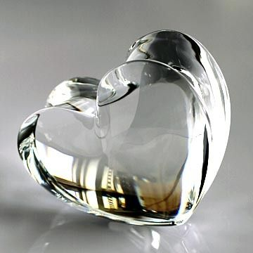 Baccarat zin zin Heart:Crystal Large