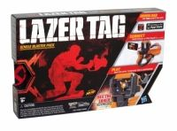 Nerf Lazer Tag Single Blaster Pack Choose from Basic Mission or App-Enhanced Mission! Battle in a Solo Campaign, Team Campaign or Multiplayer Battle! Take 10 hits and you're out in the Basic Mission Choose from Indoor or Outdoor; Data display shows Takedown Count; Match Timer; Target Reticule; Radar Scanner; Current Weapon; Special Weapon Count; Special Armor Count; Ammo; Life Level and Shield Level