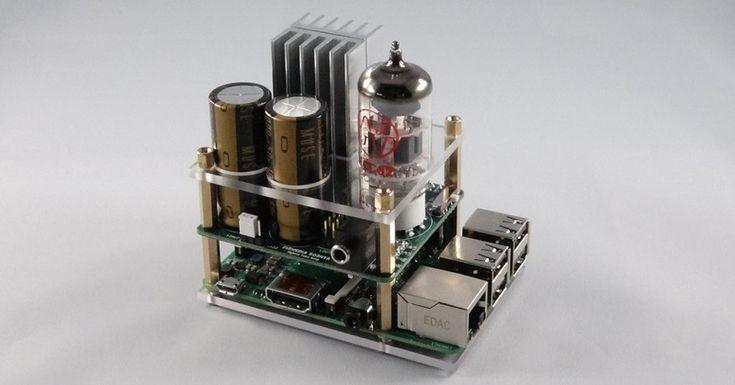 Raspberry Piで真空管サウンド——ハイブリッド真空管アンプ「503HTA」 | fabcross