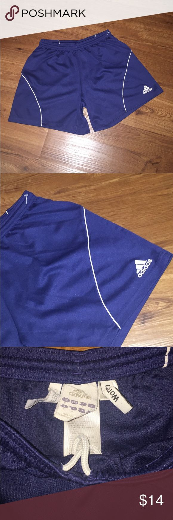 ADIDAS clima 365 Atlantic workout shorts SMALL Adidas clima 365- blue  Workout running shorts SMALL Used good condition- Great for working out at the gym running exercising- blue adidas Shorts