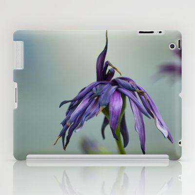 violet color iPad Case by Oscar Tello Muñoz - $60.00