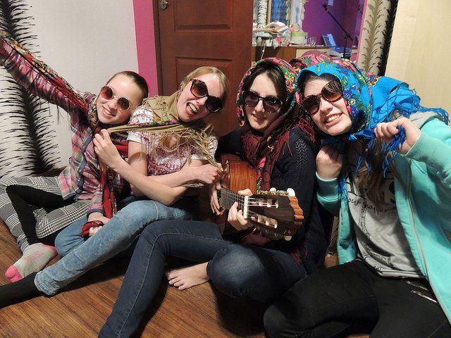 Greek Quartet Singing Anacreon   by statekfeakow