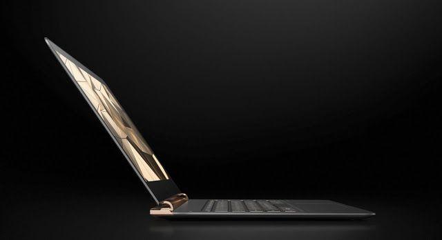 """HP Spectre el portátil más fino del mundo llega para desbancar al MacBook   Imagen del nuevo portátil ultrafino de HP.  El nuevo HP Spectre 2016 es el portátil más fino del mercado pero una extraña configuración de puertos y la calidad de la pantalla le quitan la etiqueta de """"portátil redondo""""   El nuevo HP Spectre es sobre el papel excepcional. Parece que en la firma hubieran leído las críticas al MacBook que Apple presentó hace unos meses y hubieran resuelto punto por punto todas sus pegas…"""