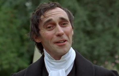 """""""Collins. On the page, okay, he's pretty bad. In the flesh, he's all-time king of the mingers!"""" #lostinausten"""