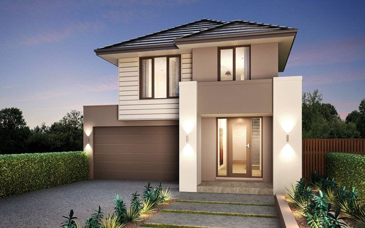 Metricon Home Designs: The Metro - Traditional Facade. Visit www.localbuilders.com.au/builders_victoria.htm to find your ideal home design in Victoria