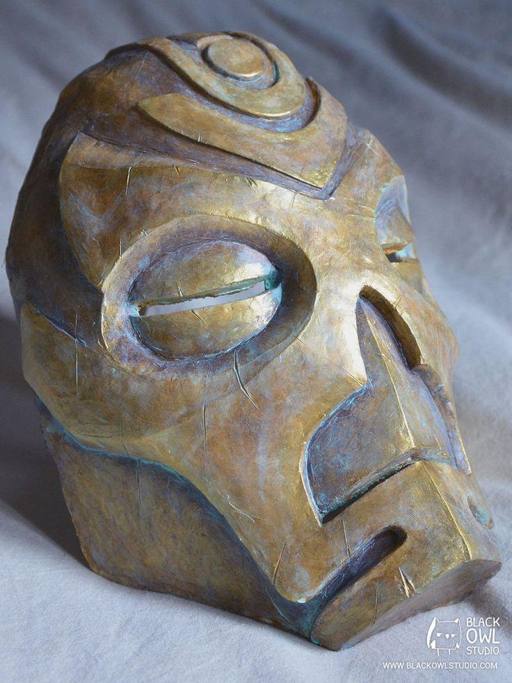 Skyrim : Krosis Mask 01 by BlackOwlStudio