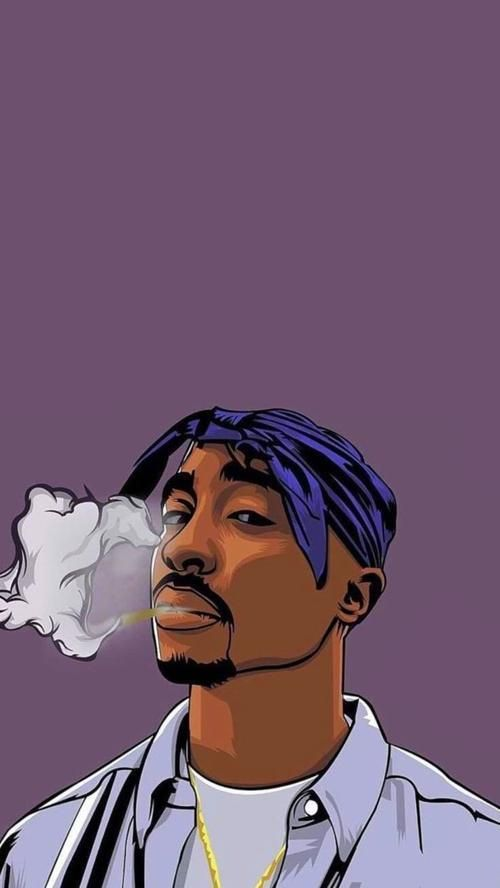 Wallpapers Iphone In 2020 Rapper Wallpaper Iphone Rap Wallpaper Tupac Art
