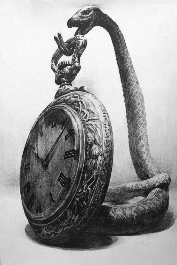 Old Watch by ~indiart3612 on deviantART