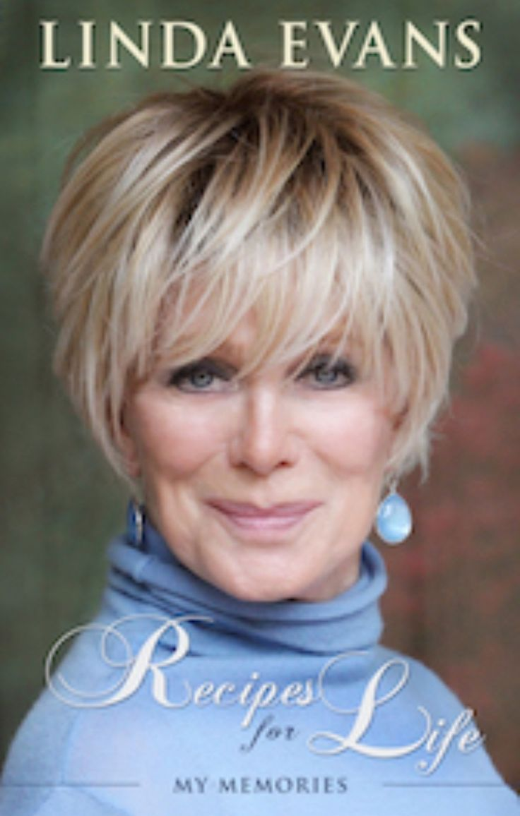Linda Evens, I'm liking her new hair style