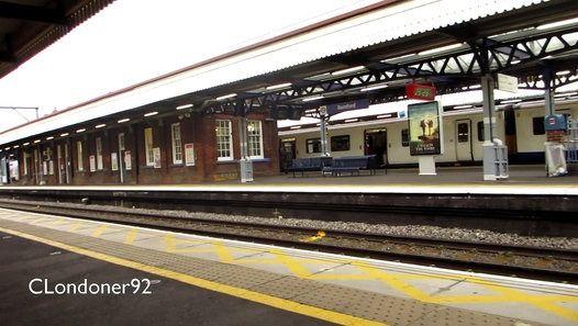 Trains at Romford Railway Station 21 September 2015