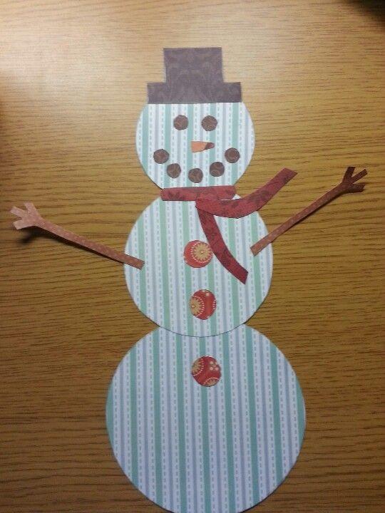 Snowman, Christmas crafts