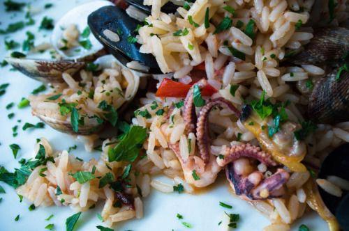 Amazing octopus dish!