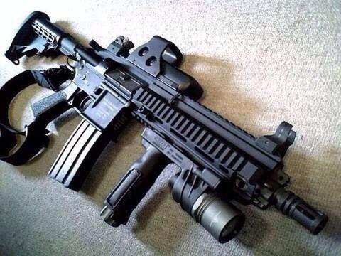 HK 416 Tactical | Guns | Pinterest