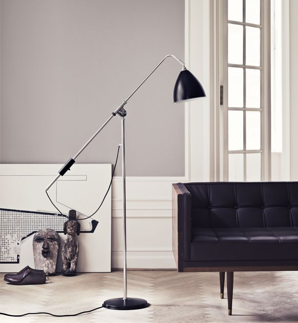 BESTLITE BL4 FLOORLAMP Bestlite has been in continuous production since 1930. Winston Churchill is numbered amongst its many famous users. The Bestlite design was conceived by Robert Dudley Best who was highly influenced by the Bauhaus.