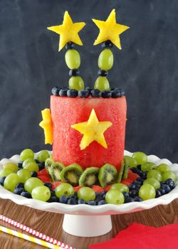 How To Make An All Fruit Party Cake - Life Love and Sugar