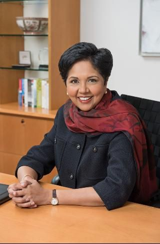 Indra Nooyi is the Chairman and CEO of PepsiCo. Her innovation push is paying off at PepsiCo, which has increased R&D spending 25% since 2011.
