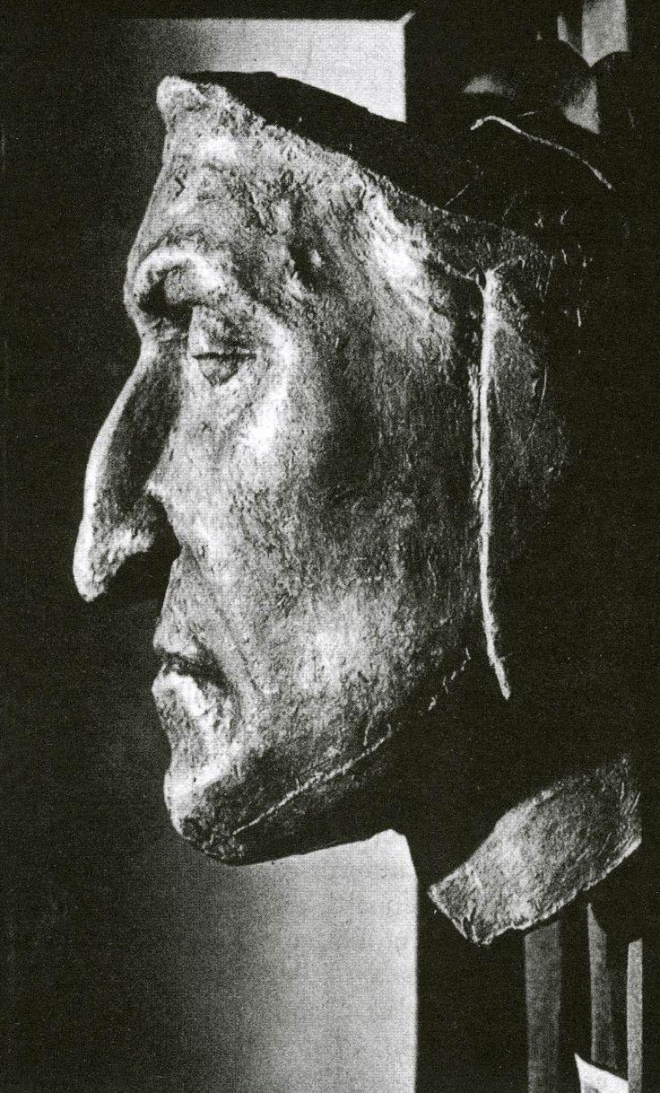 Dante Alighieri's Death Mask (1321)