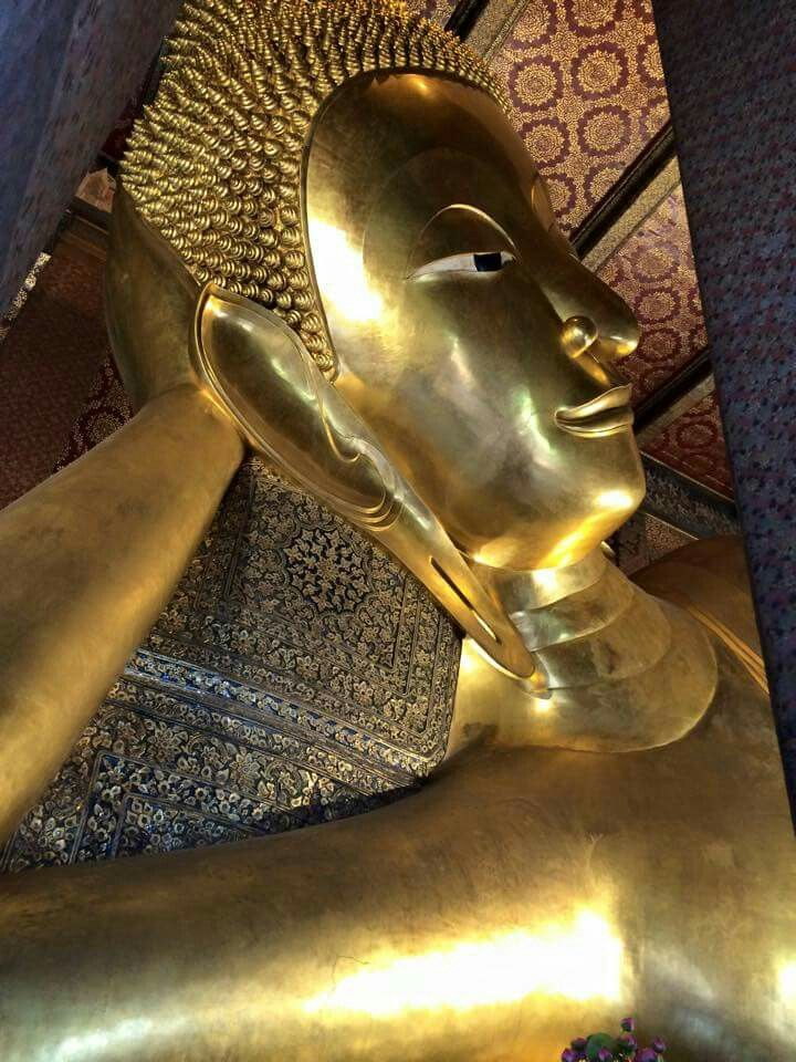 Wat Po liegender Buddha