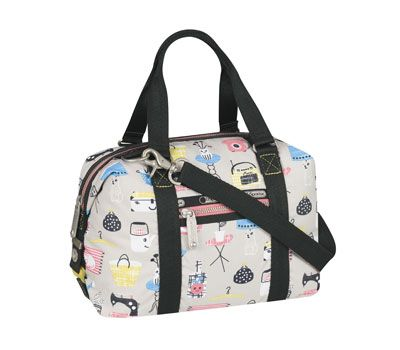 LeSportSac happy home print bag