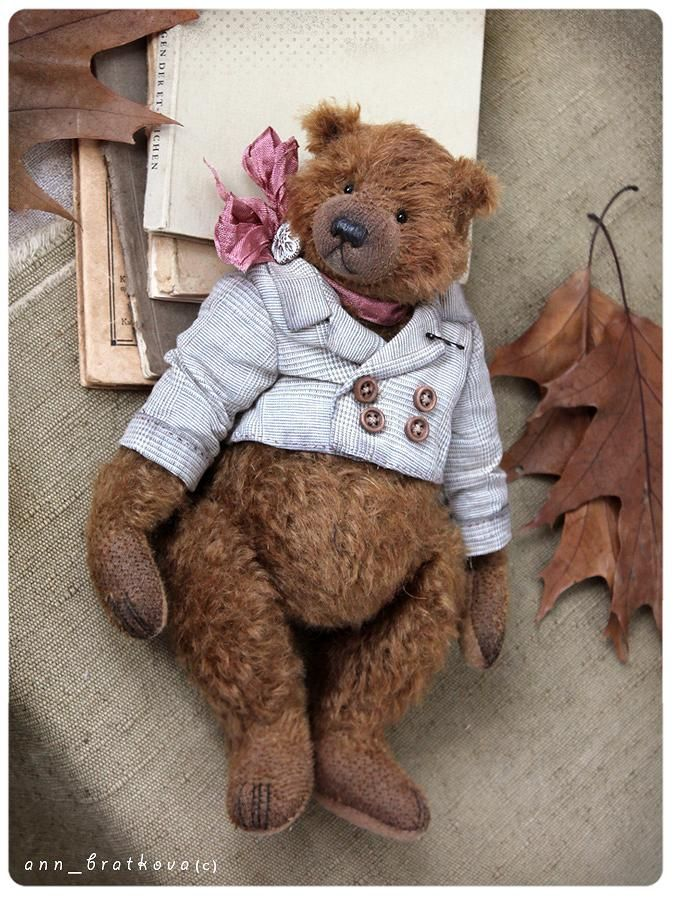 Hannette by Anna Bratkova bears on | Schöne Bärchen | Pinterest ...