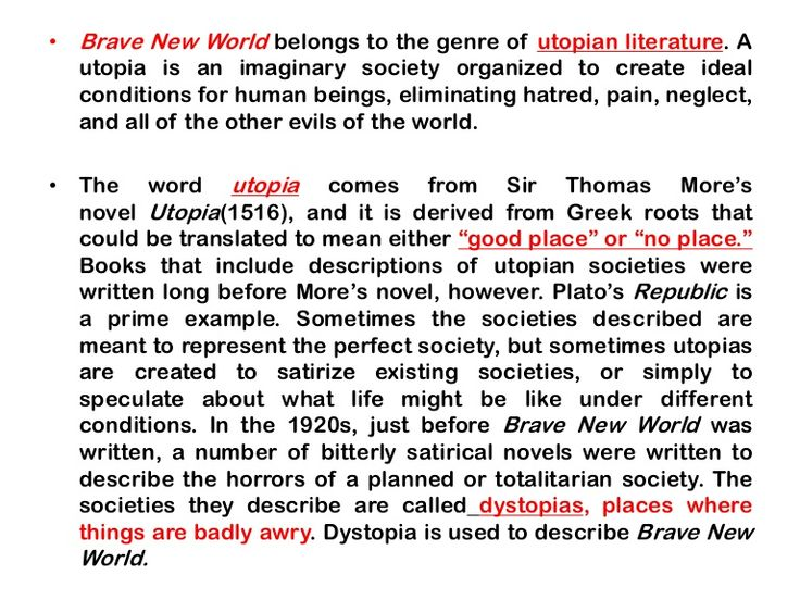 Themes in Brave New World