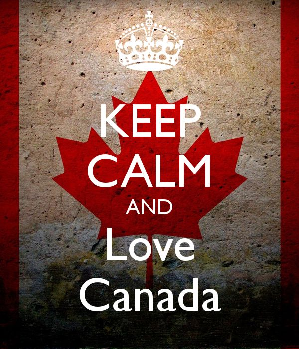 KEEP CALM AND Love Canada - KEEP CALM AND CARRY ON Image ...