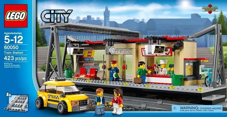 LEGO City Train Station 60050 - Discount Toys USA