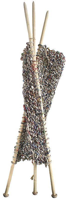Ivano Vitali, Combinazioni – paper knitting: