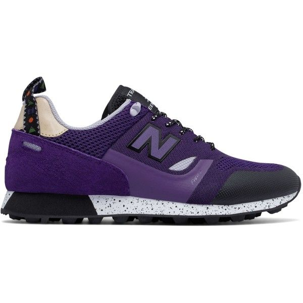 New Balance Trailbuster Re-Engineered Textile Men's Outdoor Sport... ($110) ❤ liked on Polyvore featuring men's fashion, men's shoes, men's sneakers, purple, new balance mens sneakers, mens purple sneakers, new balance mens shoes, mens sneakers and mens sport shoes