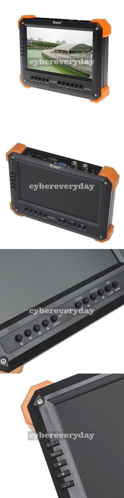 Surveillance Monitors Displays: X41ta 7 Lcd Monitor Hd-Tvi 3.0+Ahd+Hdmi+Vga+Cvbs Camera Test Video Cctv Tester -> BUY IT NOW ONLY: $148.9 on eBay!