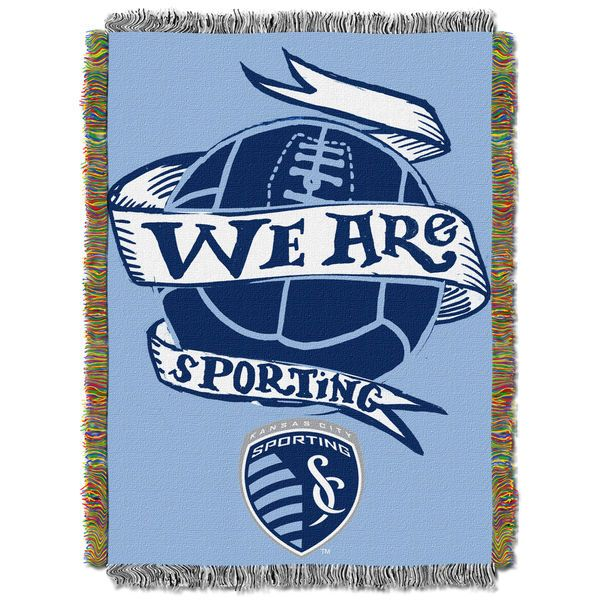 "Sporting Kansas City The Northwest Company 40"" X 60"" Woven Tapestry - Sky Blue - $32.99"