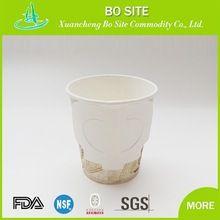 Mais tipos disponíveis xícara de sopa descartável com alça