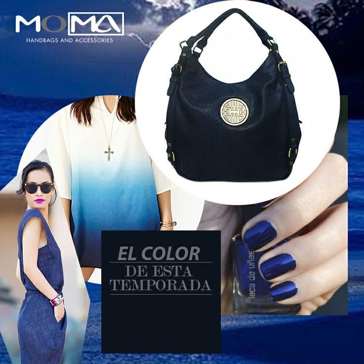 Uno de nuestros colores para esta temporada #azul ! #tipmoma #moma
