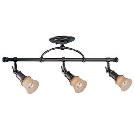 Portfolio light at Lowes....would match chandelier lights we already bought