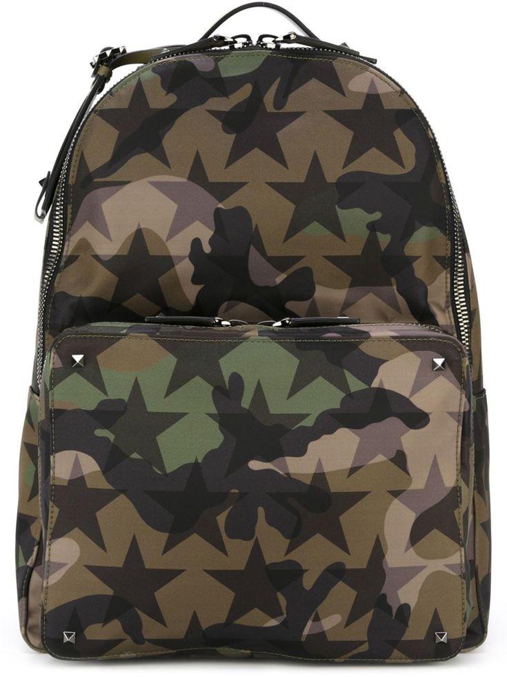 Valentino 'Rockstud Camustars' backpack