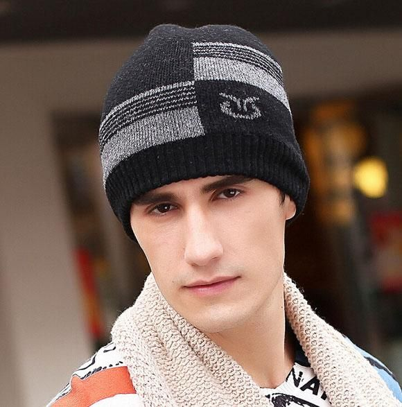 2015 Sale Fur Hats For Men'S Outdoor Sports Plus Thick Warm Wool Cashmere Double Mens Winter Hats From Just_trust, $3.48 | Dhgate.Com