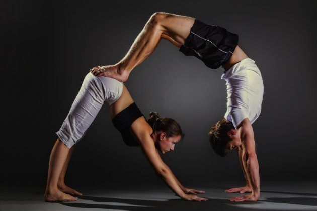 Yoga Challenge Poses For 2 People Partneryoga Two People Yoga Poses Couples Yoga Poses Partner Yoga Poses