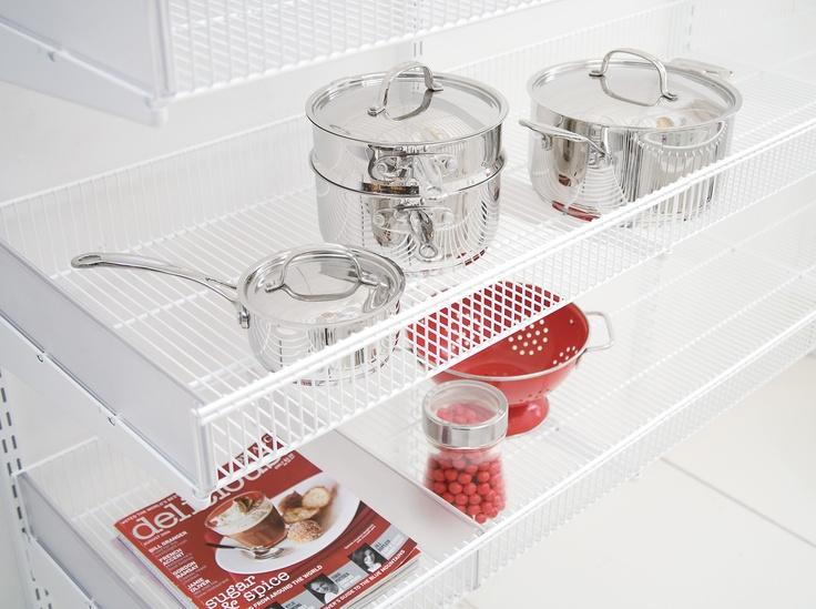 69 best images about elfa shelving kitchen on pinterest - Howards storage ...