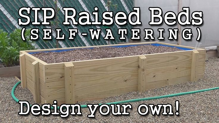 Sip Sub Irrigated Raised Bed