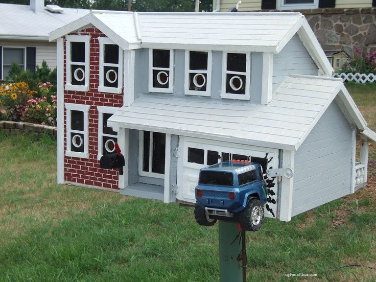 Image detail for unusual and unsightly mailboxes from for Car mailboxes for sale