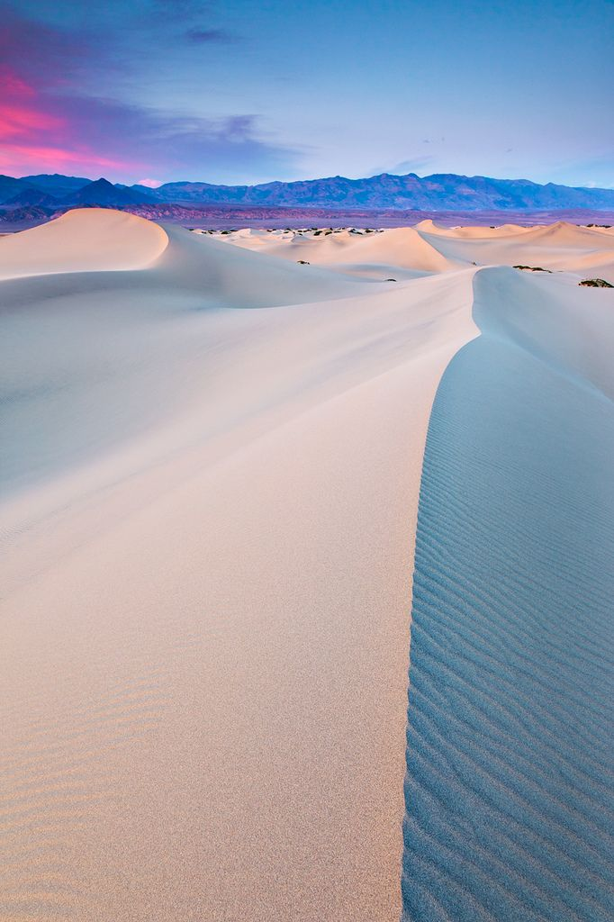 Mesquite Sand Dunes, Death Valley National Park, California, United States